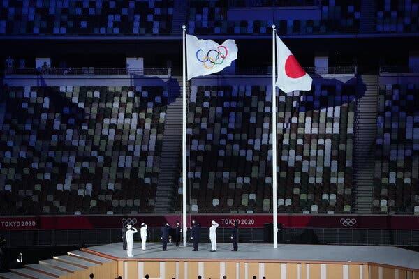 'Let Space Speak' | Tokyo 2020 OpeningCeremony